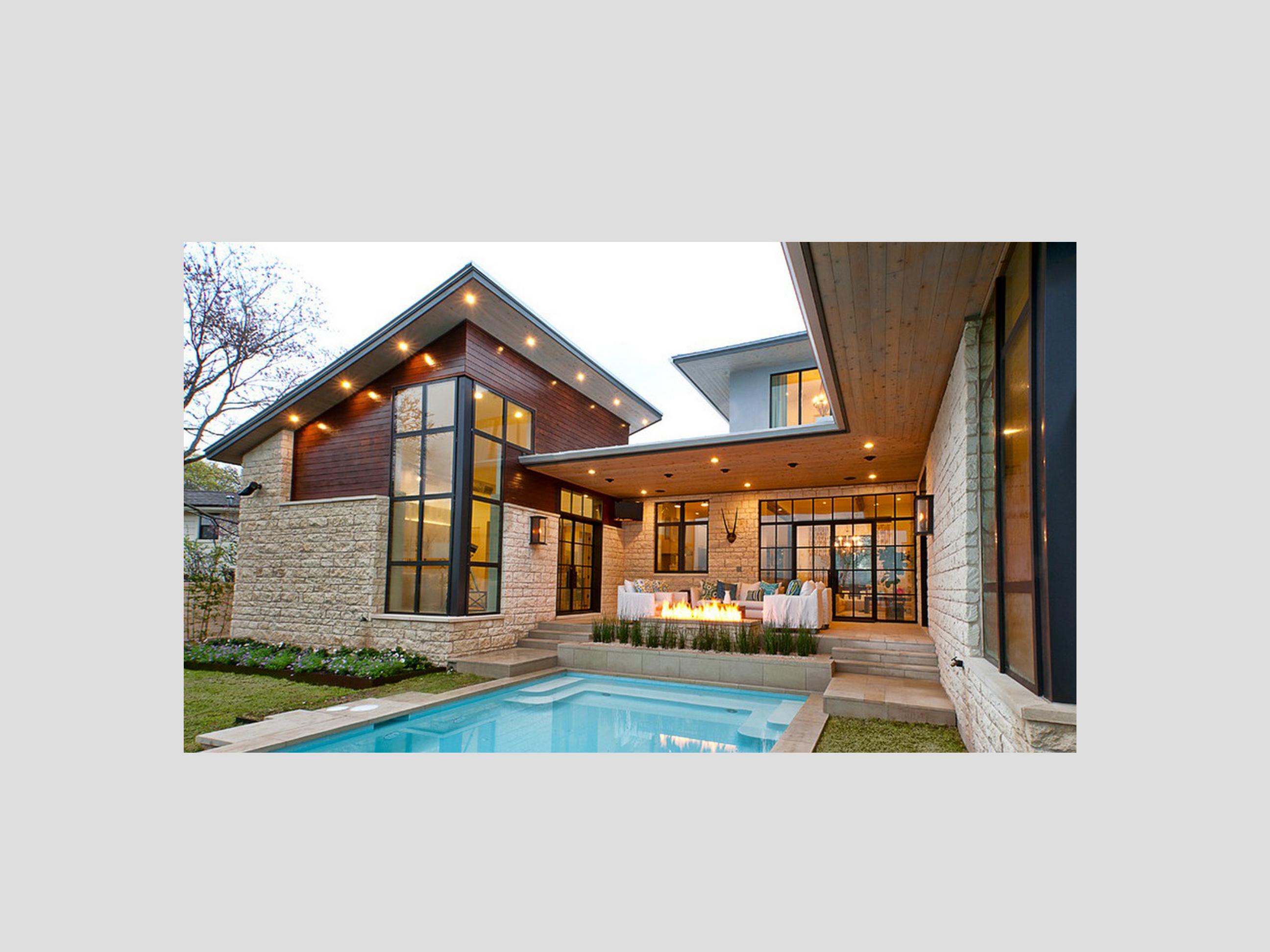 Villa di lusso in legno